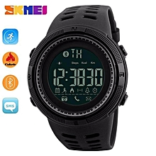 SKMEI 1250 Men Smart Watch Bluetooth Pedometer Calories Chronograph Fashion Outdoor Sport Backlight Waterproof Man Wristwatches By HonTai