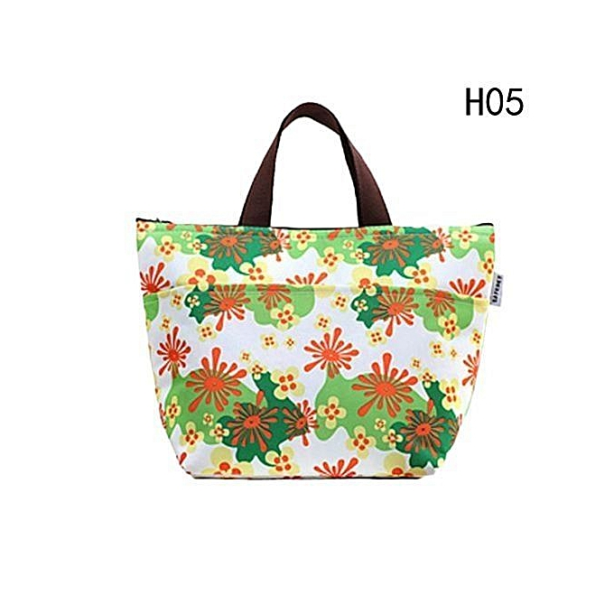 7 Styles Lunch Bag Waterproof Picnic Tote Bag Insulated Lunch Cooler Bag Lunch Holder Lunch Container