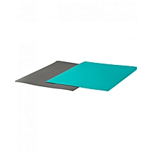 Finfordela Bendable Chopping Boards- 2 Pieces - Grey & Blue