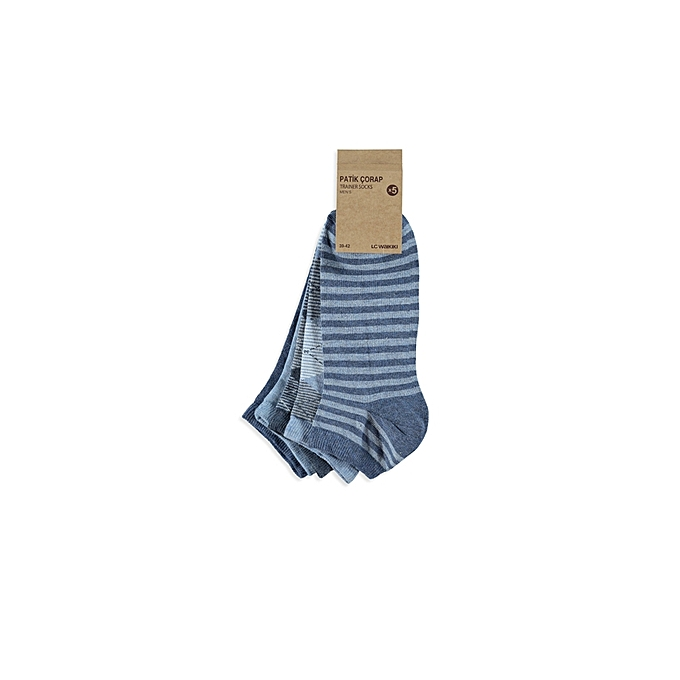 Blue Fashionable Socks Set