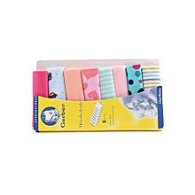 Multi coloured Baby WashCloths, Organic Cotton Soft & best for Newborn Sensitive Skin Baby Wipe, Set of 8