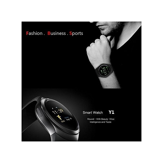 ... Smart Watchs Y1 Round display support Nano SIM &TF Card With Whatsapp and Facebook Men Women ...