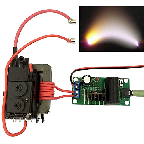 20KV ZVS Tesla Coil Booster High Voltage Generator Plasma Music Arc DIY  Speaker Kit