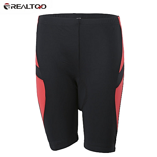 43bbaae021450 Bicycle Uniform Silicone Gel Padded Cycling Shorts - Red