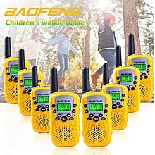 8 x Mini Baofeng T3 BF-T3 BFT3 Walkie Talkie Portable Two-Way Radio