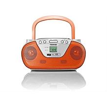 TYCRU8 - Portable CD & USB Radio - Orange&white