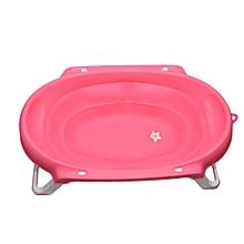 Folding Baby Bath Tub – Pink .