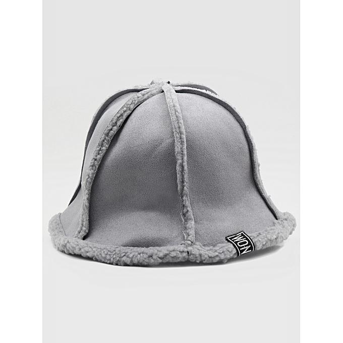 6fd30e43bb6d6 ZAFUL Winter Fuzzy Foldable Bucket Hat