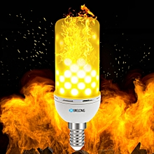 LED Flame Light Bulb Emulation Flaming Decorative Lamp - Warm White