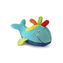 Plush Happy Whale - Multicolour