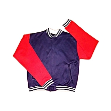 College Jacket - Red & Blue