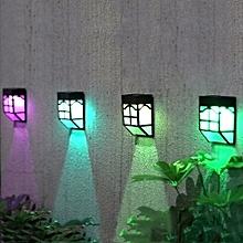 Solar Lights Outdoor Fence Fence Lights Garden Waterproof Home Landscape Lights