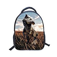 14 Inch Dinosaur Kindergarten Children School Backpack - Multicolor