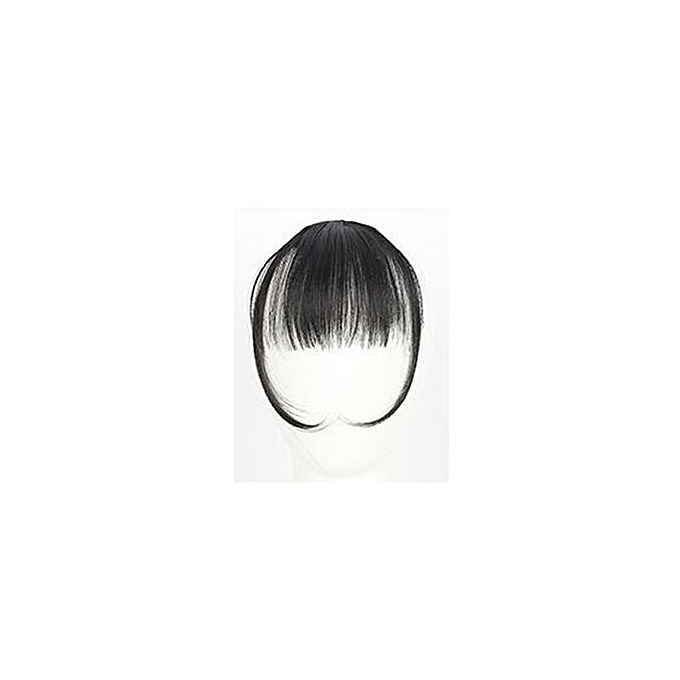 Buy Eissely Pretty Girls Clip On Clip In Front Hair Bang Fringe Hair