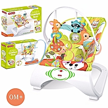 iBaby Rocker with soothing vibrations(2018)-Multicolor