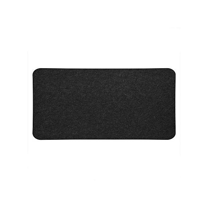 ... 68x33cm Felts Table Mouse Pad Office Desk Laptop Mat Anti-static Computer PC Pads Dark ...