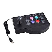 PXN-0082 Controller Premium Wired Black Rocker Console Arcade Arcade Game Video Game
