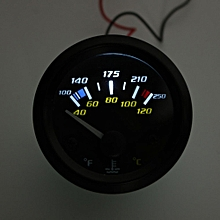 2 Inch Water Temperature Gauge 100F- 250F 40C-120C For 12 Volt System Universal
