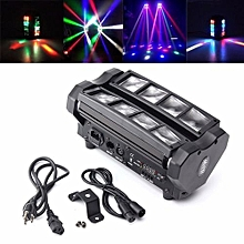 LED MINI Spider Beam Moving Head Stage Lighting DJ Party Disco