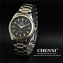 new arrival brand fashion gold strap mens women business quartz watches dress stainless full steel sport wristwatch