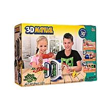 3D Maker, 3D Drawing Gel Pen, 3D Molds, Stencils, 3D Manual, 3D Magic