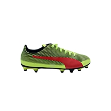 Football Boots Spirit Fg Moulded Snr- 10449202flo Yell/Blk- 6