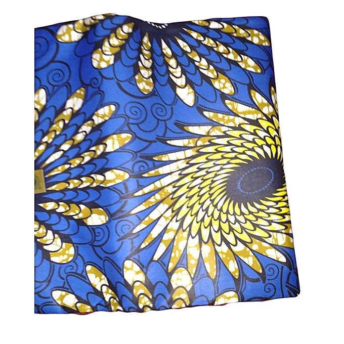 Generic Kitenge Fabric From Congo, 6 Yards @ Best Price