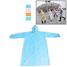 Pocket Emergency Adult Raincoat Attached Hood (Random Color Delivery)