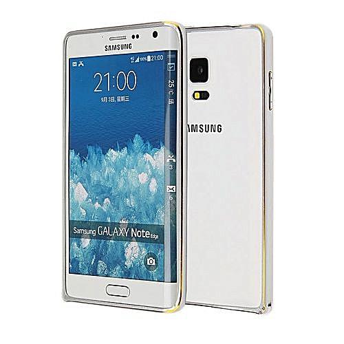 Generic Aluminum Metal Bumper For Samsung Galaxy Note Edge N9150 (Silver)