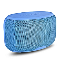 NR - 4015 Wireless Bluetooth Stereo Speaker Subwoofer Mini Player-BLUE