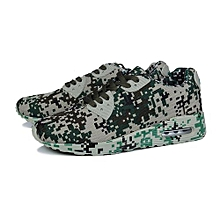 UL Fashion Camouflage Lovers Shoes Unisex Casual Breathable Sports Army Green