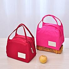 KCASA KC-LG013 Waterproof Oxford Lunch Tote Bag Fashion Travel Picnic Food Storage Organizer