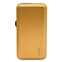 9000mAh Superior Capacity Powerbank - {GOLD}.