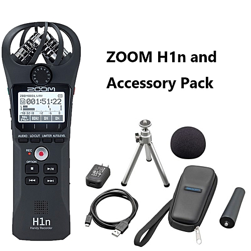 Professional portable ZOOM H1N Handy Recorder Ultra-Portable Digital camera  Audio Recorder Stereo microphone Interview SLR MARWA