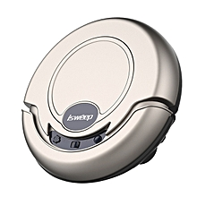 Automatic isweep Robotic Vacuum Cleaner , Sweeping, Cleaner Vacuum, Sterilize, Wet Mop , Dry Mop - Gold