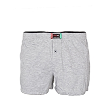 Light Grey Cotton Boxers