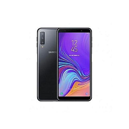 Galaxy A7 (2018), 128GB + 4GB (Dual SIM), Black