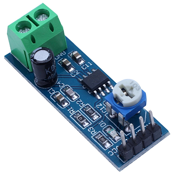 5PCS 200 Times Gain 5V-12V LM386 Audio Amplifier Module For Arduino EK1236