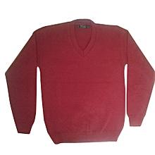 School Sweater - Maroon