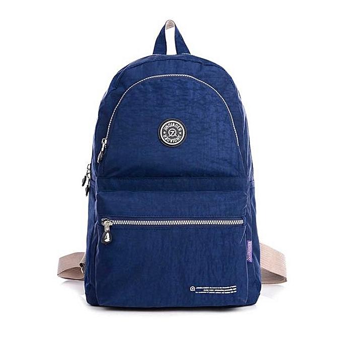 hohes Ansehen attraktive Mode hohe Qualitätsgarantie Waterproof Nylon Travel Satchel Shoulder Bag Backpack School Rucksack DB