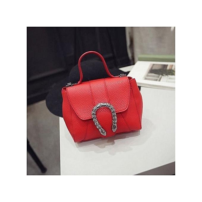 b5226363fed1 bluerdream-Fashion Women New Summer Handbag Shoulder Bag Messenger Bag  Ladies Bag RD-Red