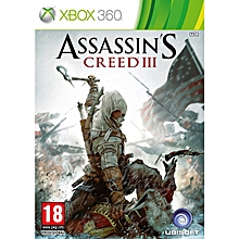 XBOX 360 Game Assasins Creed 3