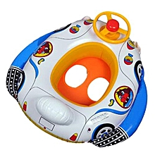 Wheel Horn Inflatable Kids Baby Pool Swim Ring Seat Float Boat Swimming Aid NEW