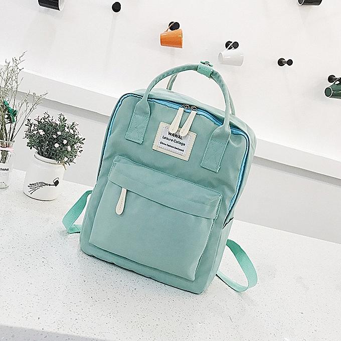 koadong shop Fashion Women Girl Students Canvas Shoulder Bag School Bag  Travel Tote Backpack 40690a826ffd0