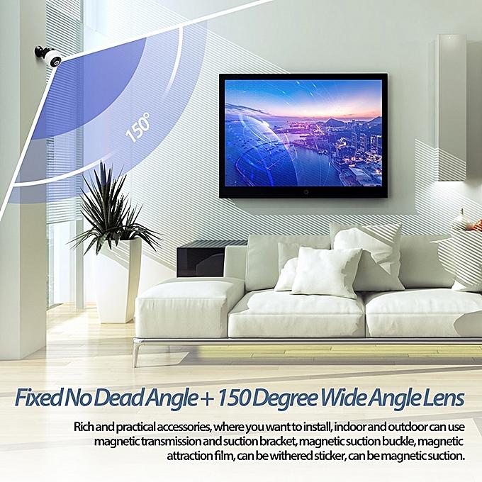 HD 1080P Mini Camera Micro WIFI Mini smallest Camera With Night Vision IP  WIFI Cam Home Security Video Camcorder Small dv dvr( Standard)(W8 Black)