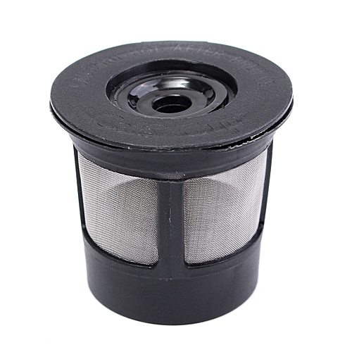 11b9abe8a91 Generic Reusable Single Cup For Keurig Solo Filter Pod K-Cup Coffee  Stainless Mesh Black
