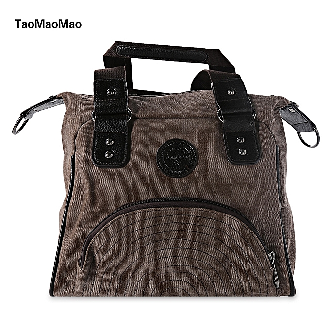 51f3410cae3f Taomaomao Women Leisure Canvas Shoulder Messenger Bags Crossbody High  Quality Handbag