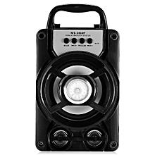 MS - 201BT Portable High Power Output Multimedia FM Radio Wireless Bluetooth Speaker