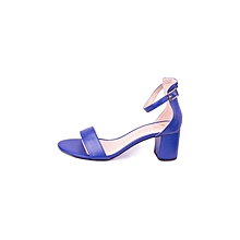 Blue Women's Casual Shoes With A Strap