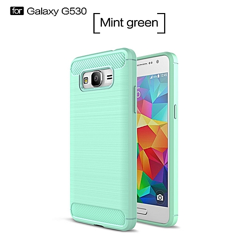 new products f0dd7 0f575 For Samsung Galaxy Grand Prime Soft Carbon Fiber Case Cover Shockproof Full  Protector Metal Wire Drawing Casing Armor For Galaxy Grand Prime Shell